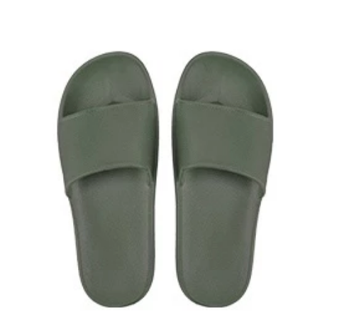 Open Toe House Slippers with Flexible EVA Soles - Quick-dry & Non-slip