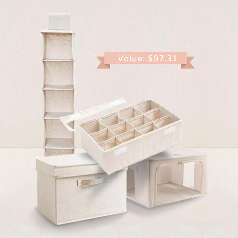 Storage & Organizers Combo Value Pack