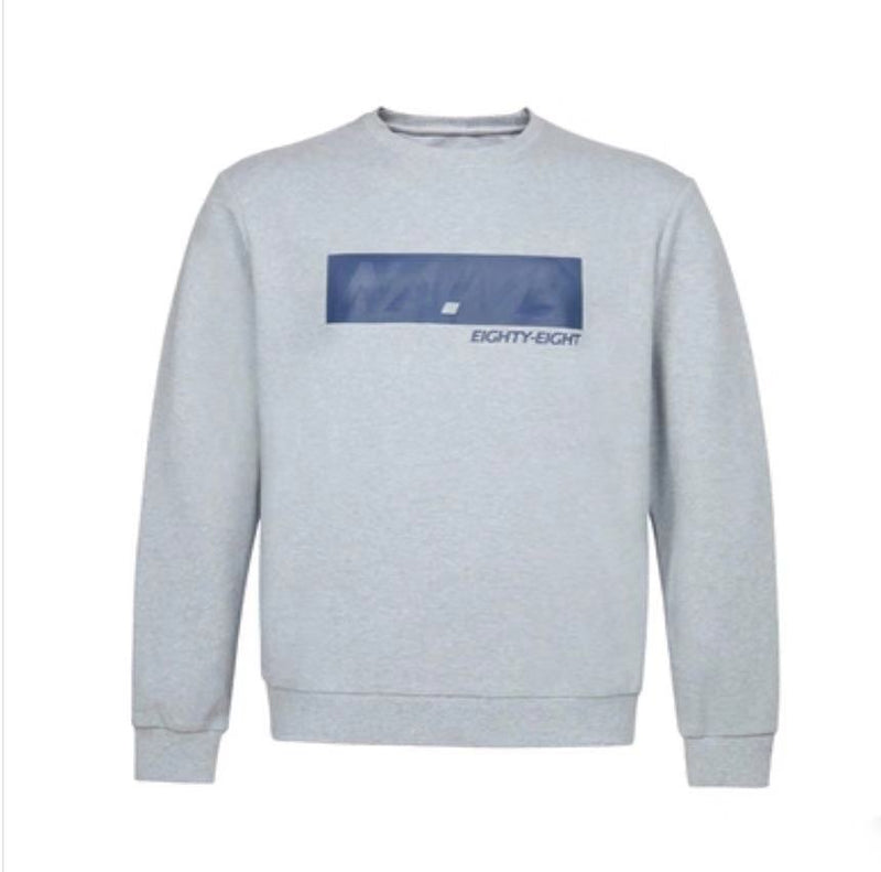 Men's Printed Round Neck Sweatshirt