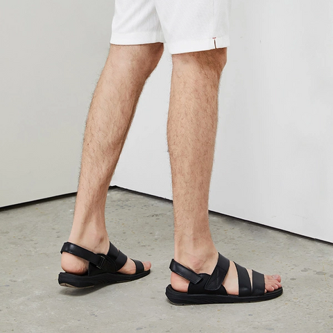 Men's Simple Leather Sandals