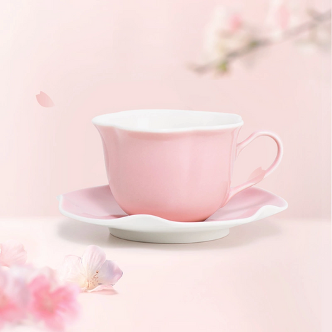 Pink Sakura Shape Cup Set