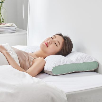 Adjustable Pillow filled with Alpine Bitter Shell Home & kitchen LIFEASE 3D stereo partition pillow (without sachet)