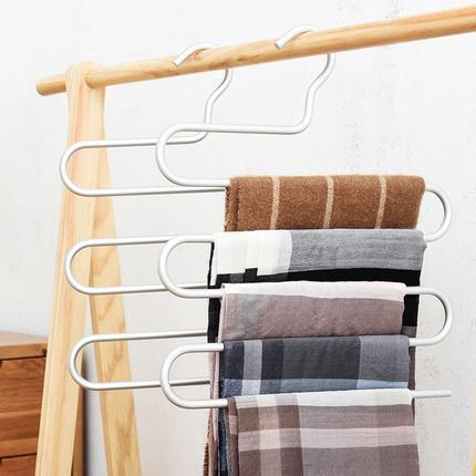 Aluminum Multi-Layer Pants Rack Home & kitchen LIFEASE