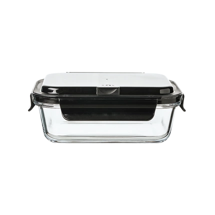 Glass Lunch Container with Portable Utensil Set - Sizes: 600ml & 1000ml