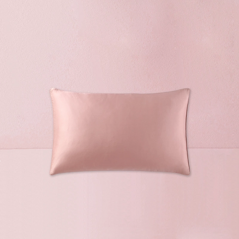 16 Momme Luxurious Mulberry Silk Pillowcase - Standard/Queen Size - 4 Colors - One Piece/Set of Two