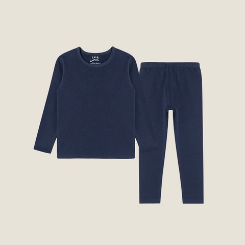 Boy's Cotton Thermal Underwear Suits (Top + Pants)