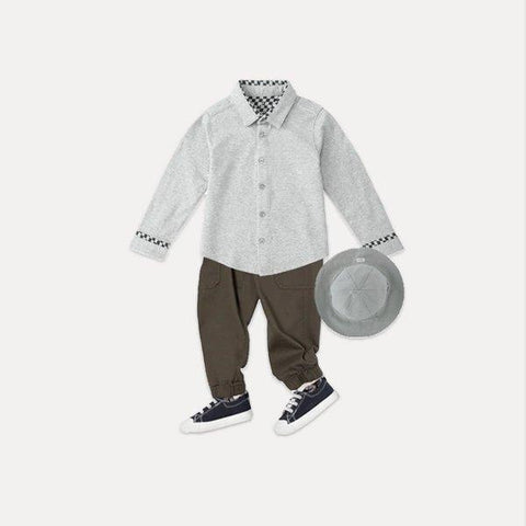 Baby's Button Down Shirt for 3 months to 3 Years Old Baby Care LIFEASE