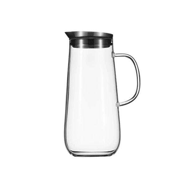 Borosilicate Glass Pitcher With Lid Home & kitchen LIFEASE 1250 ml