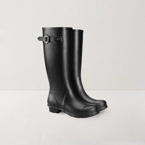 British Style Long Rubber Rain Boots Sports & Travel LIFEASE