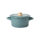 Japanese Enamel Saucepan 1.5QT/Soup Pot 2.1QT - Multiple Color