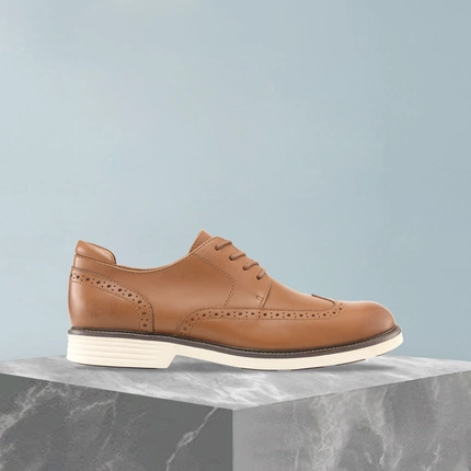 Men's Leather Bullock Derby Shoes