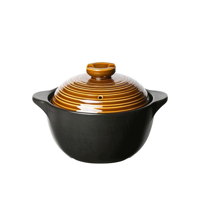 Ceramic Enamel Pot - (2.2L, 3.5L) Home & kitchen LIFEASE Cooper 2.2L (2-4 people)