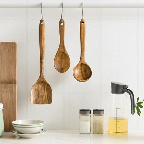 [Minimum 2 Per Order] Wooden Cooking Utensil (Stirring/Spoon/Spatula/Ladle)