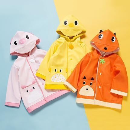 Children's Cartoon Raincoat 2-7 Years Old Baby Care LIFEASE
