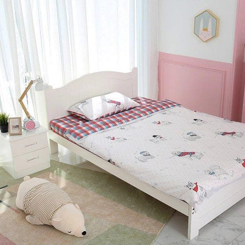 Children's Cotton Double-sided Bedding Set Home & kitchen Lifease