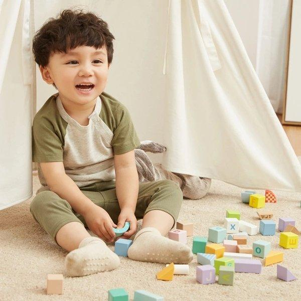 Children's Educational Blocks - 55 Capsules Baby Care LIFEASE