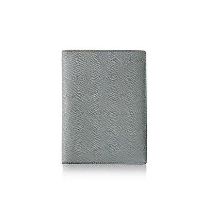 Classic Leather Passport Holder Cover Apparel shoe bag LIFEASE Grey