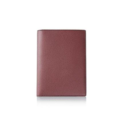 Classic Leather Passport Holder Cover Apparel shoe bag LIFEASE Red