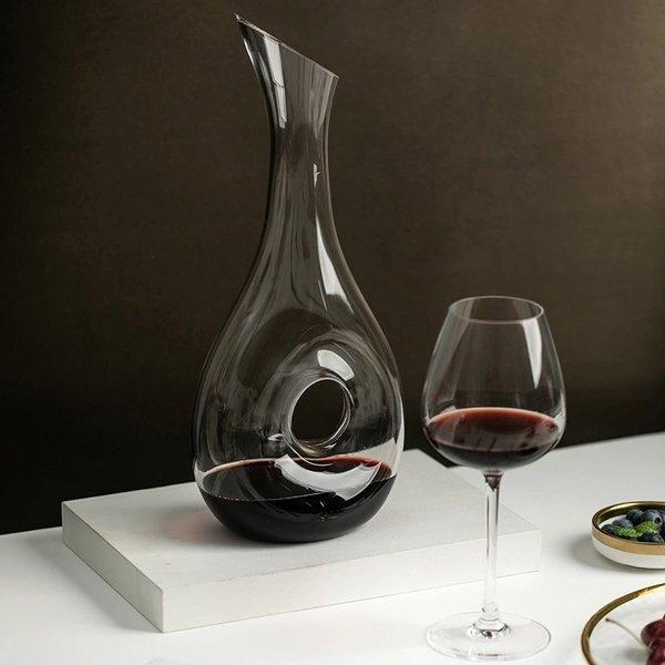Crystal Glass Wine Decanter Home & kitchen LIFEASE
