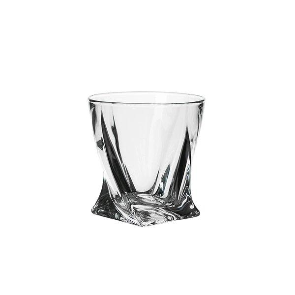 Crystal Whiskey Glass [Made in Czech Republic] Home & kitchen LIFEASE 340ml
