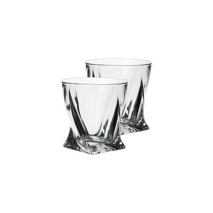 Crystal Whiskey Glass [Made in Czech Republic] Home & kitchen LIFEASE 55ml (2 pieces)