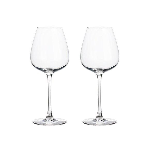 Crystal White Wine Glass Set of 2 Home & kitchen LIFEASE 350ml (2 pieces)