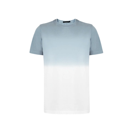 Men's Combed Cotton Gradient T-Shirt