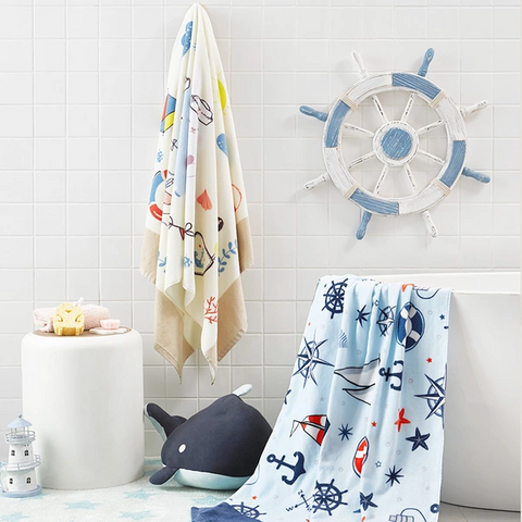 100% Cotton Hooded Bath Towel