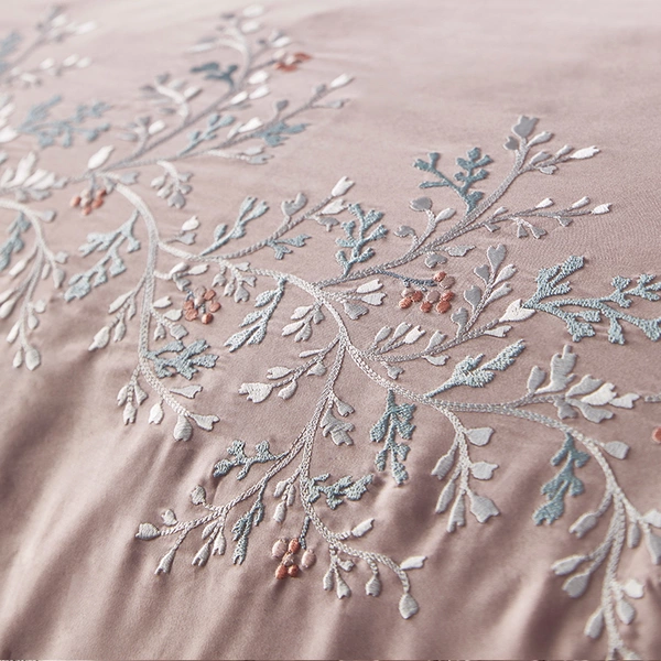 4-piece 60 Long-staple Cotton Embroidery Bedding Set