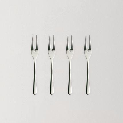 Dessert Fork (4 Pieces) Home & kitchen LIFEASE 4 Pieces