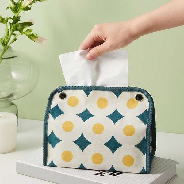 [Minimum 2 Per Order] Canvas Motif Tissue Box
