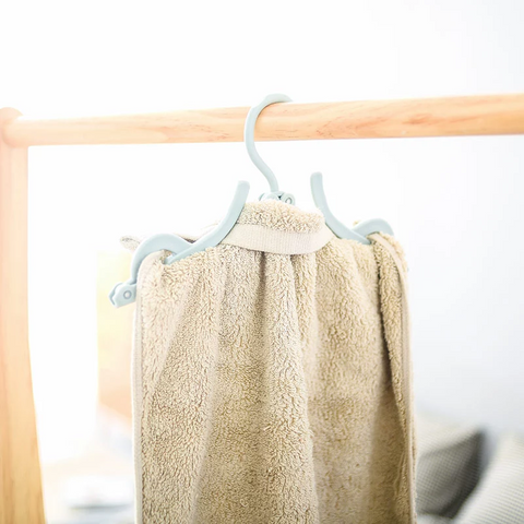 Multi-Functional Hangers for Towels