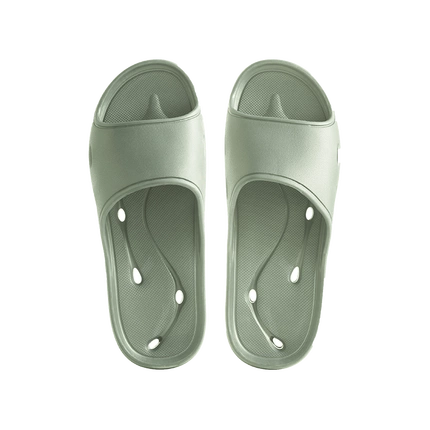 Super-Fast-Dry Shower Pool Open Toe Slippers with Draining Holes