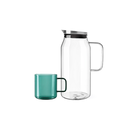 Heat-resistant Glass Pitcher