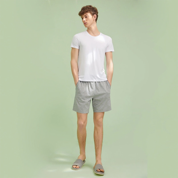 Men's 100% Cotton Pajama Shorts