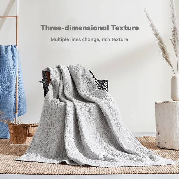 100% Washed Cotton Japanese-style Blanket