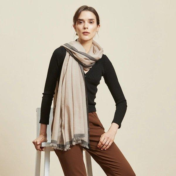Elegant and Soft Wool Scarf/Shawl Apparel shoe bag LIFEASE