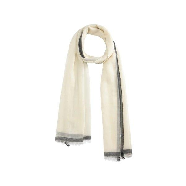 Elegant and Soft Wool Scarf/Shawl Apparel shoe bag LIFEASE Beige