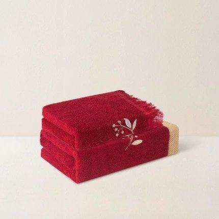 Elegant Luxury Towel - Chinese Wedding Version Home & kitchen LIFEASE