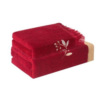 Elegant Luxury Towel - Chinese Wedding Version Home & kitchen LIFEASE Gift Set (2 towels + 2 bath towels)