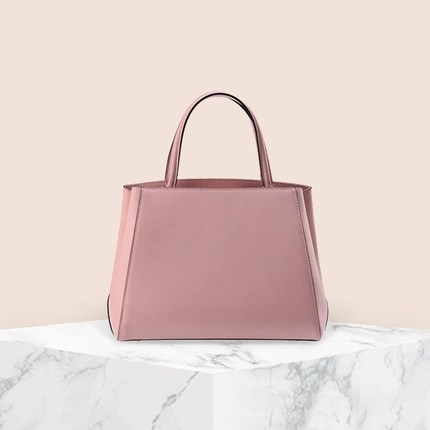 Women's Minimalist Leather Tote Hand bag