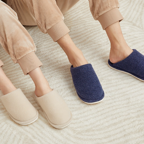 Velvet Fleece Home slippers