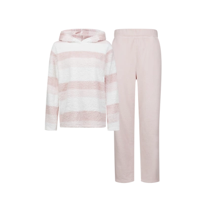 Women's Striped Polar Fleece Pajama