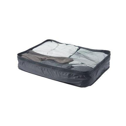 Foldable Travel Storage Bags, Woven Fabric Sports & Travel LIFEASE Black Single layer Large