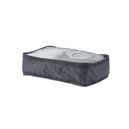Foldable Travel Storage Bags, Woven Fabric Sports & Travel LIFEASE Black Single layer Medium