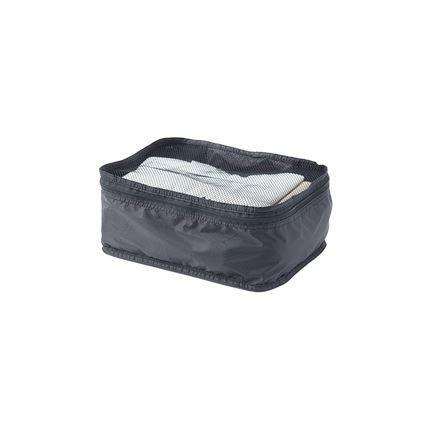 Foldable Travel Storage Bags, Woven Fabric Sports & Travel LIFEASE Black Single layer Small