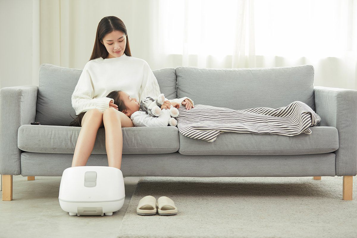 Foot Bucket Steam with Electric Heating Massage Consumer Electronics LIFEASE