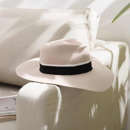 French Elegant Felt Hat Apparel shoe bag Lifease