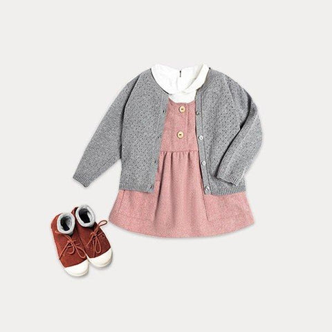 Girl's Cardigan for 4-16 Years Baby Care LIFEASE