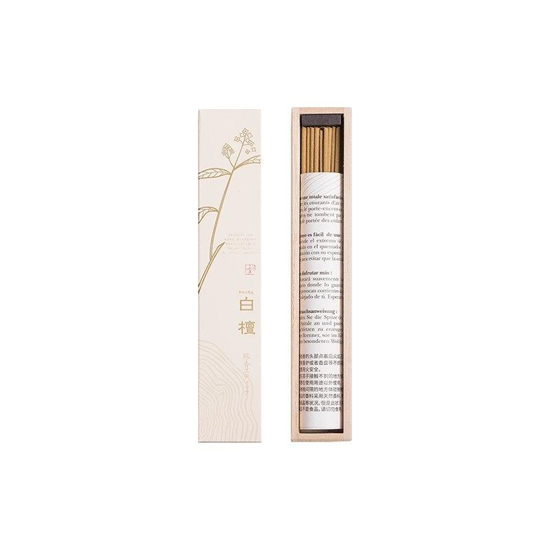 Incense Sticks White Sandalwood-Made in Japan (40 Sticks) Personal Care Lifease 1-Pack(White Sandalwood)
